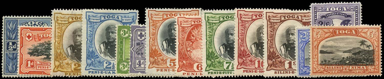 TONGA 1897  SG38a/53a Mint