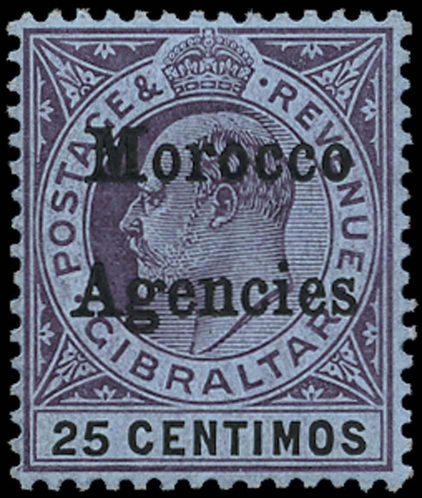 MOROCCO AGENCIES 1905  SG27 Mint