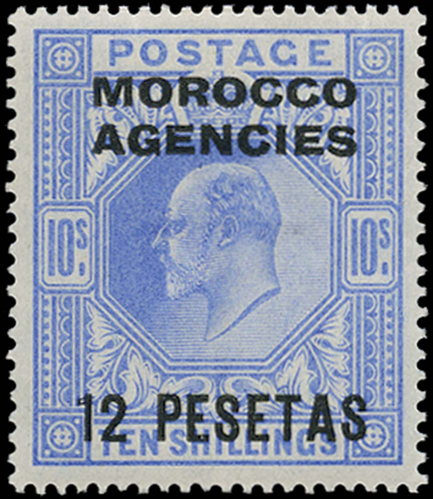 MOROCCO AGENCIES 1907  SG123 Mint