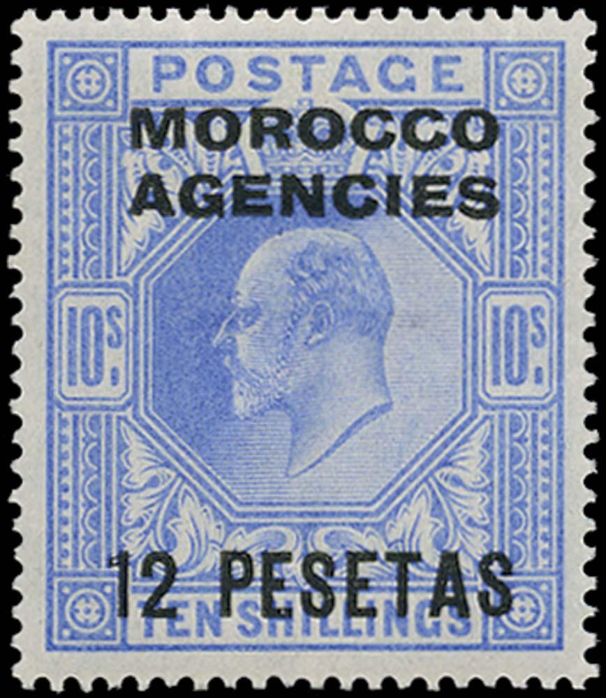 MOROCCO AGENCIES 1907  SG123 Mint
