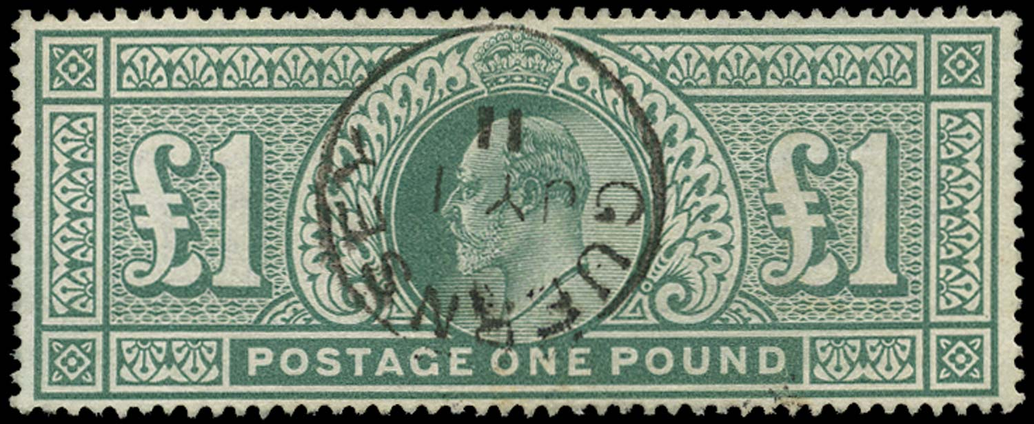 GB 1902  SG266 Used Guernsey cds