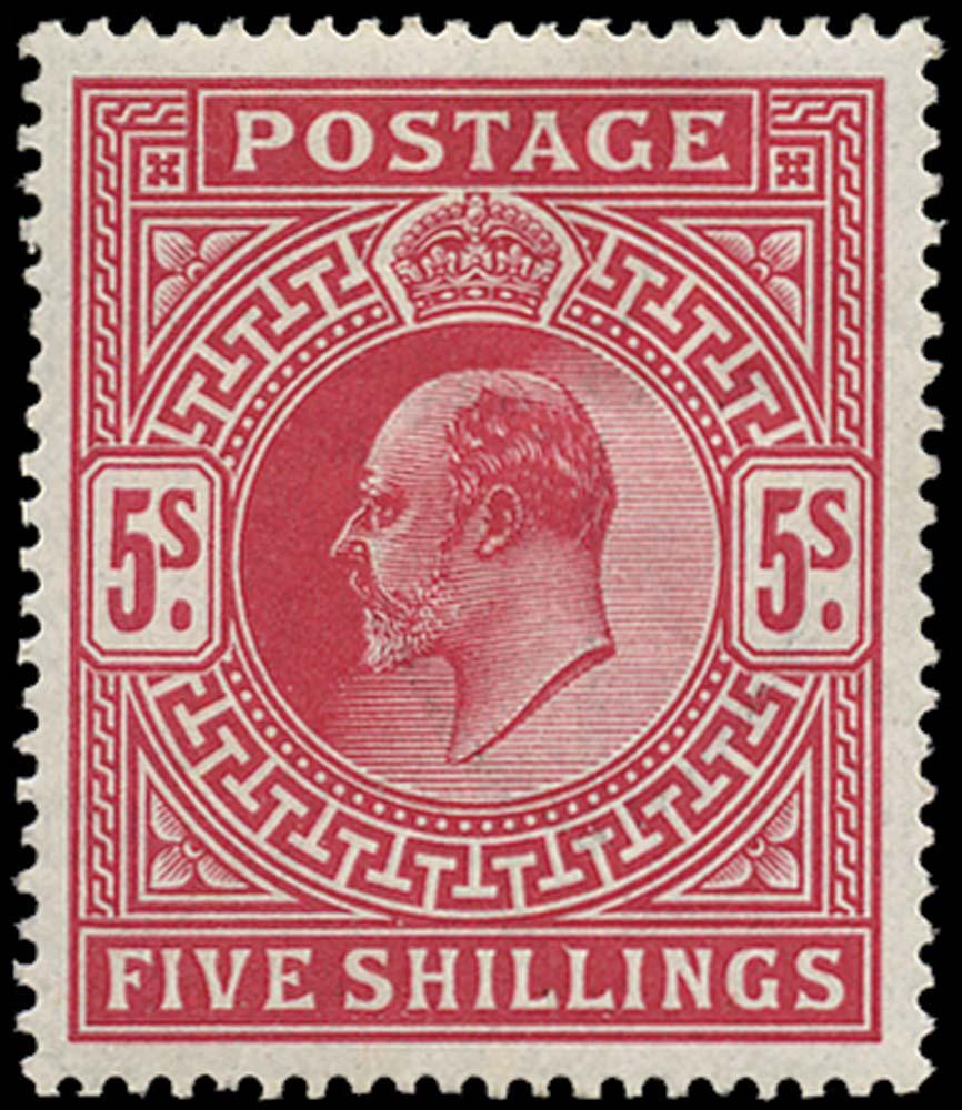 GB 1912  SG318 Mint unused o.g. example