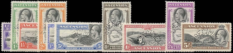 ASCENSION 1934  SG21s/30s Specimen