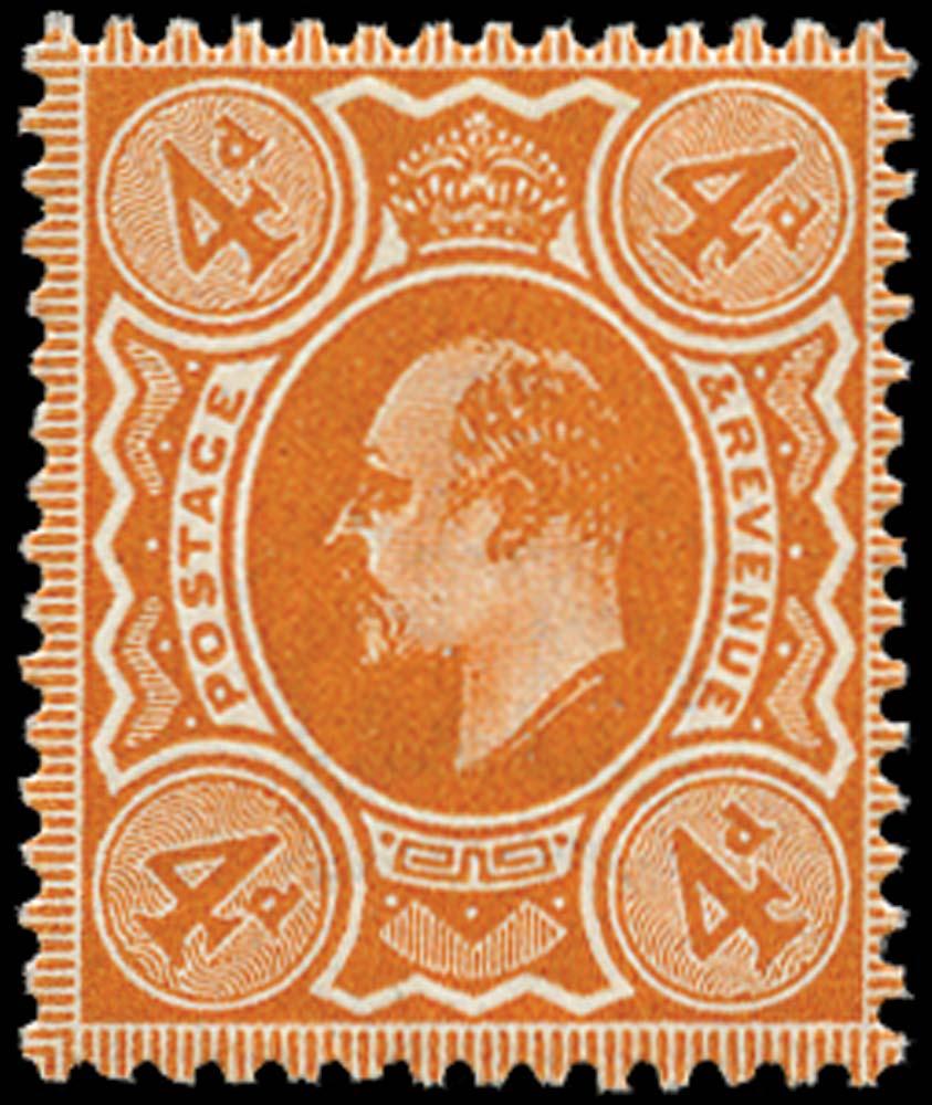 GB 1911  SG278 Mint unused o.g. example