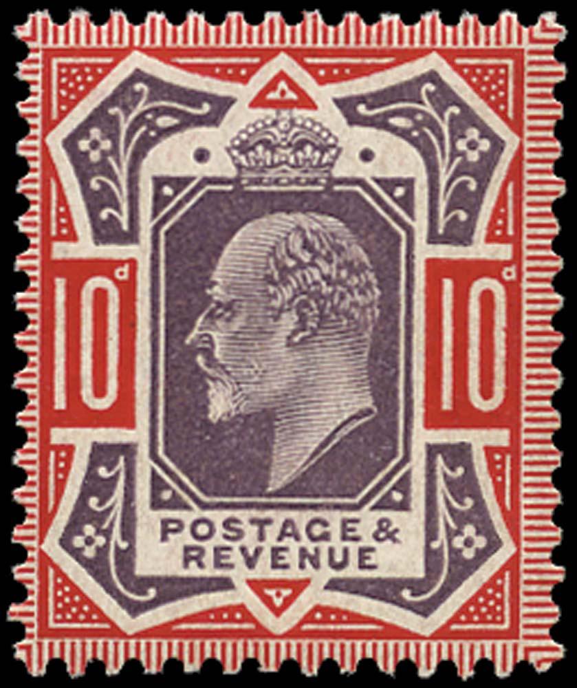 GB 1910  SG256 Mint unused o.g. example