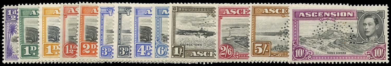 ASCENSION 1938  SG38s/47s Specimen