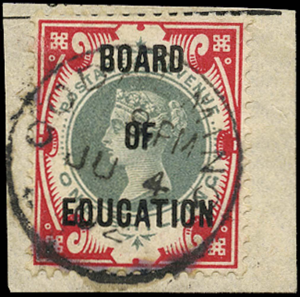 GB 1902  SGO82 Official