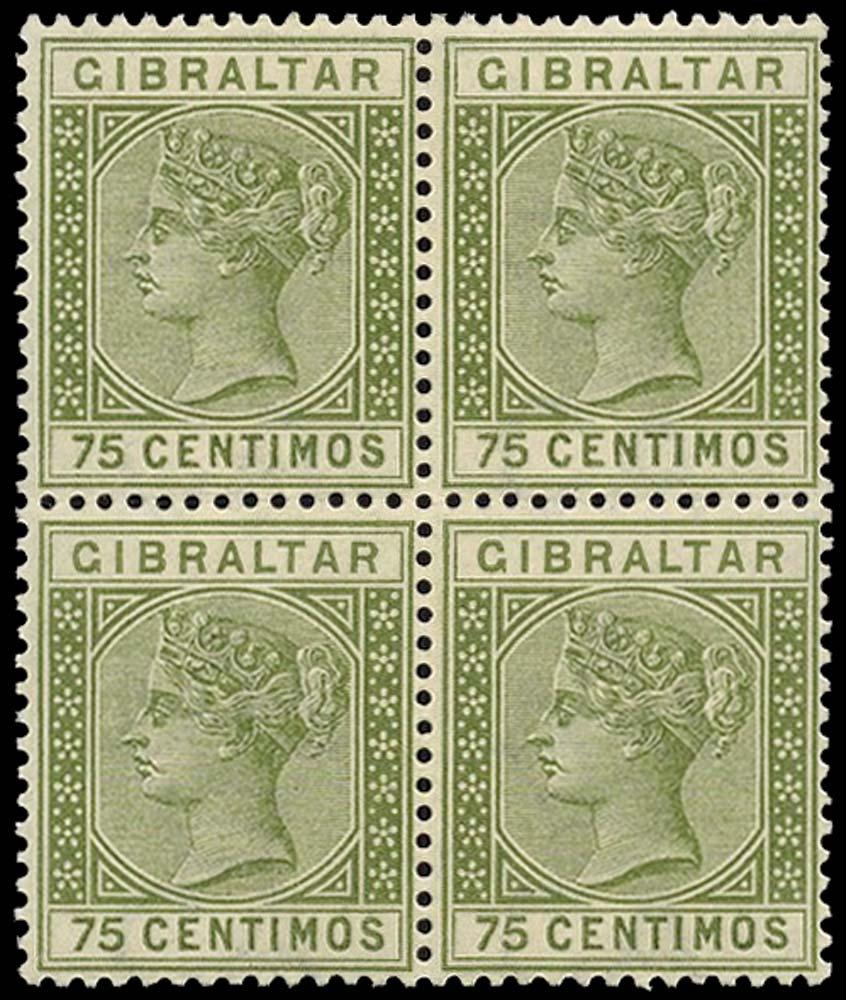GIBRALTAR 1889  SG29 Mint