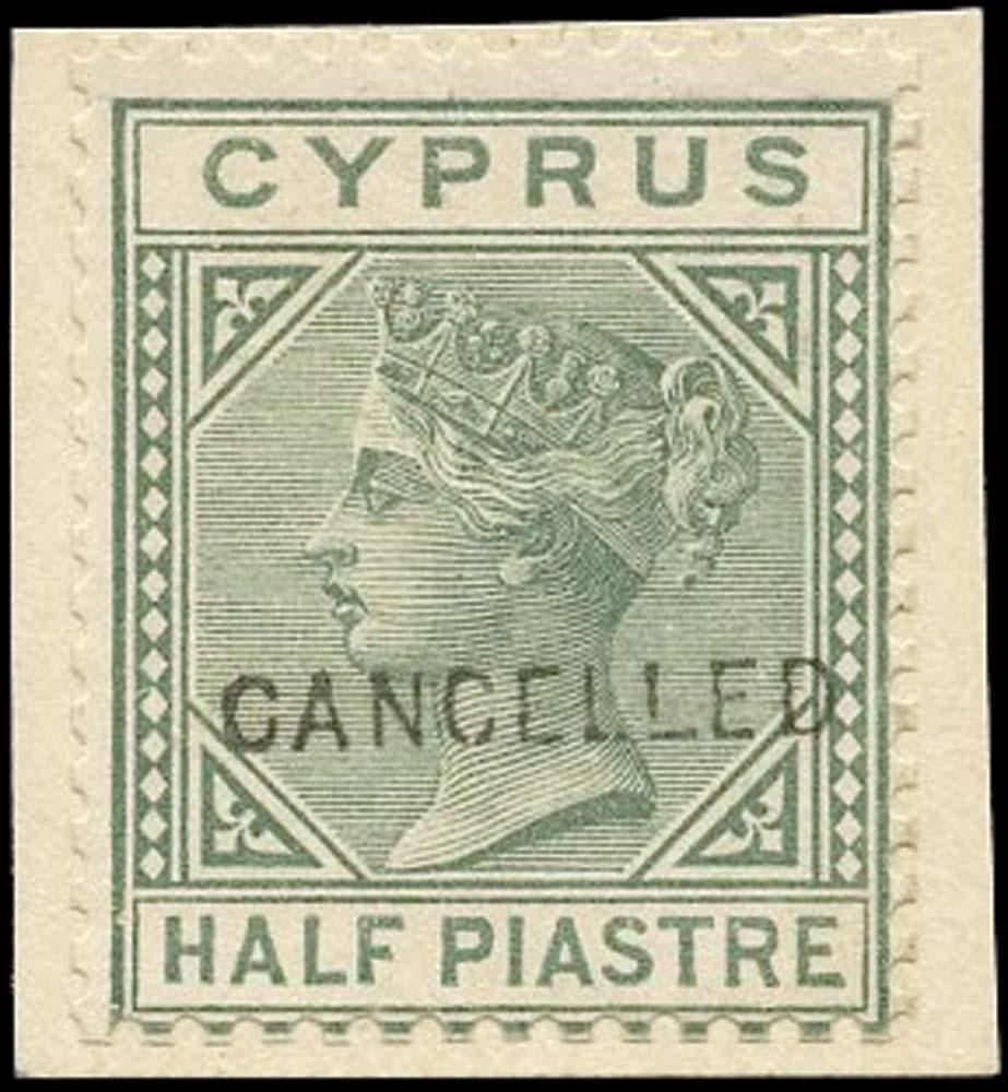 CYPRUS 1882  SG16a Specimen