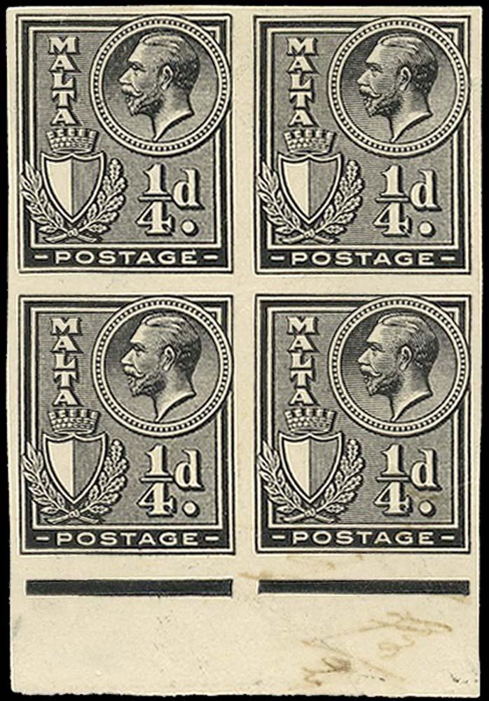 MALTA 1926  SG157 Proof