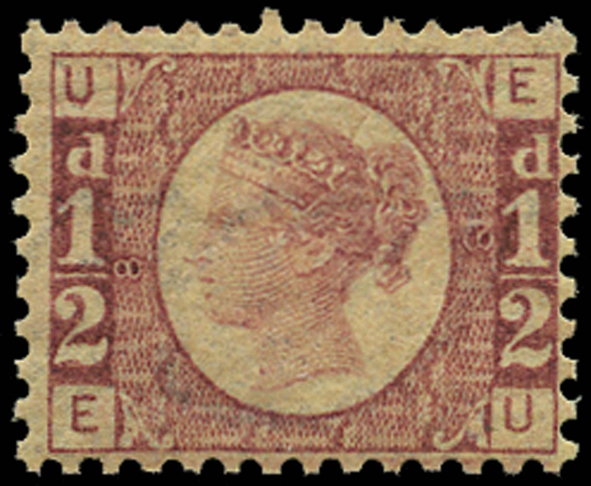 GB 1870  SG48 Pl.8 Mint U/M example (EU)