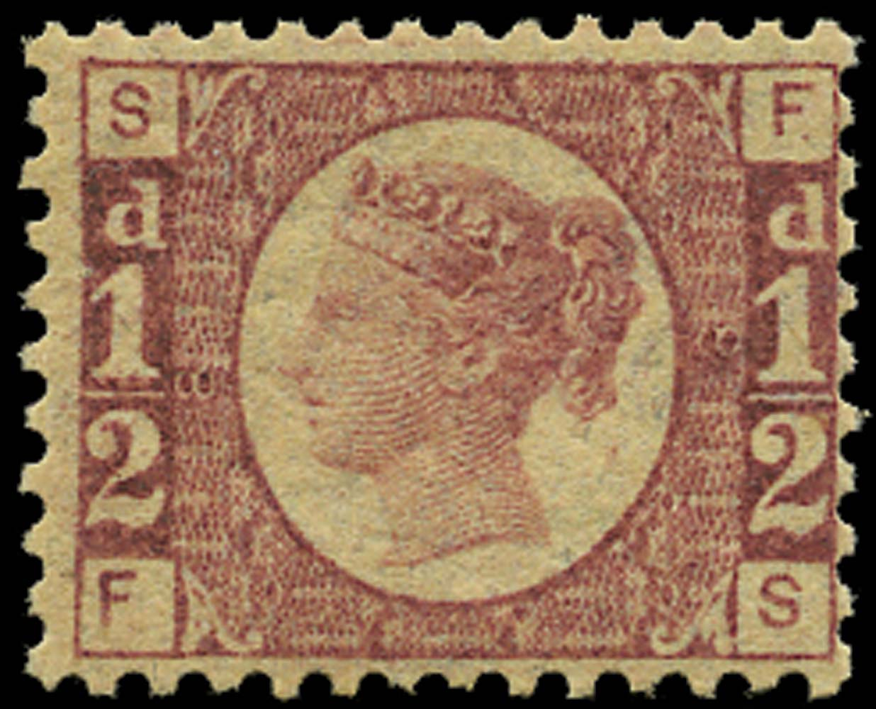 GB 1870  SG48 Pl.8 Mint U/M example (FS)