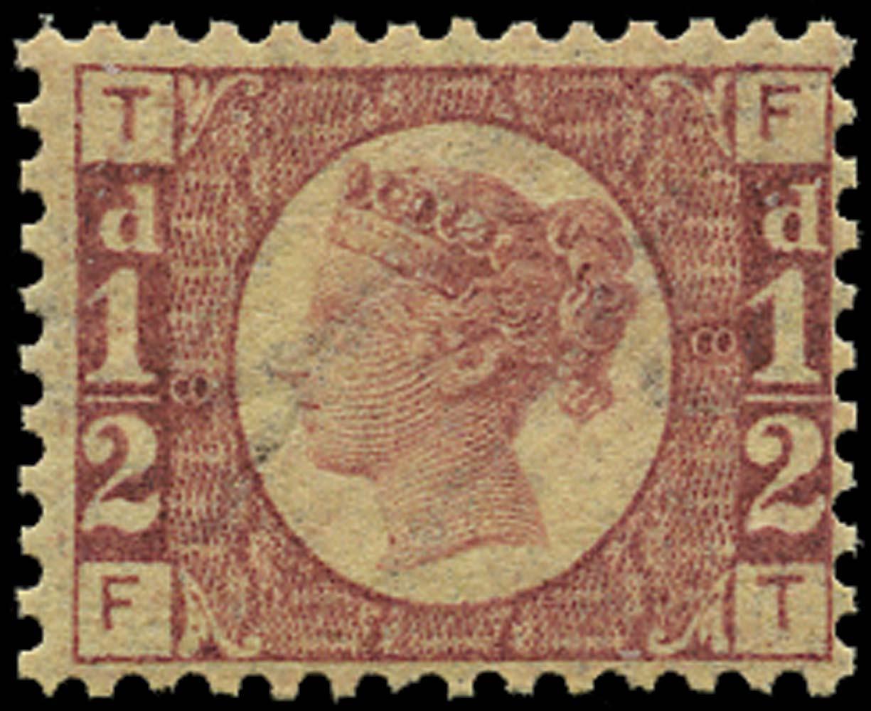 GB 1870  SG48 Pl.8 Mint U/M example (FT)
