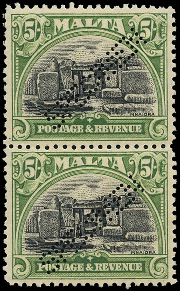 MALTA 1930  SG208s Specimen