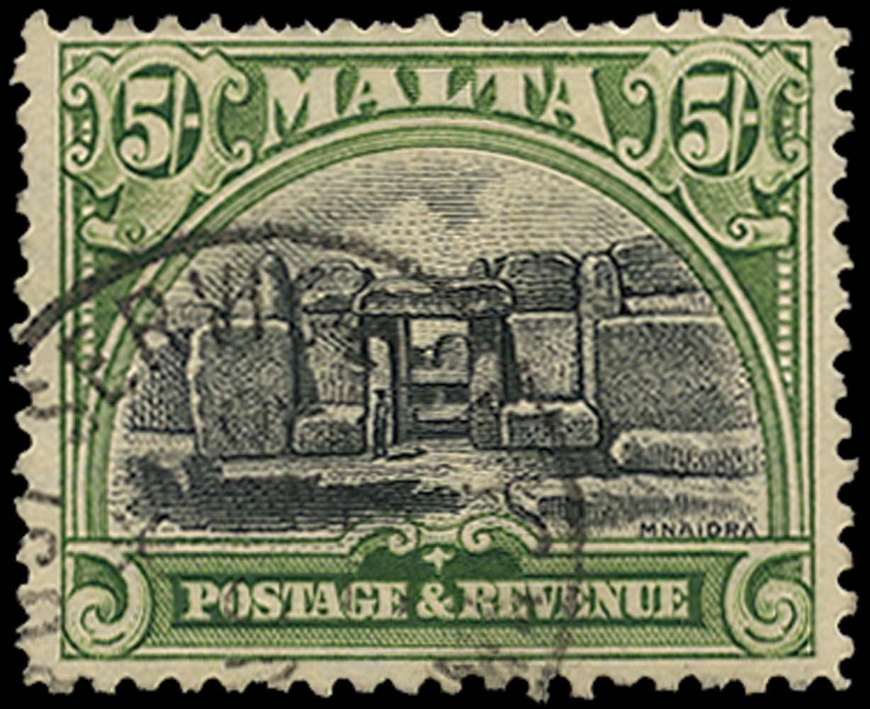 MALTA 1930  SG208 Used