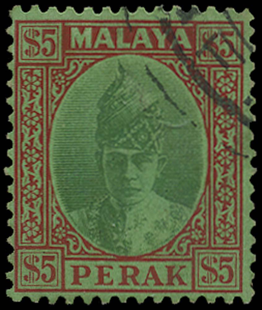 MALAYA - PERAK 1941  SG121 Used