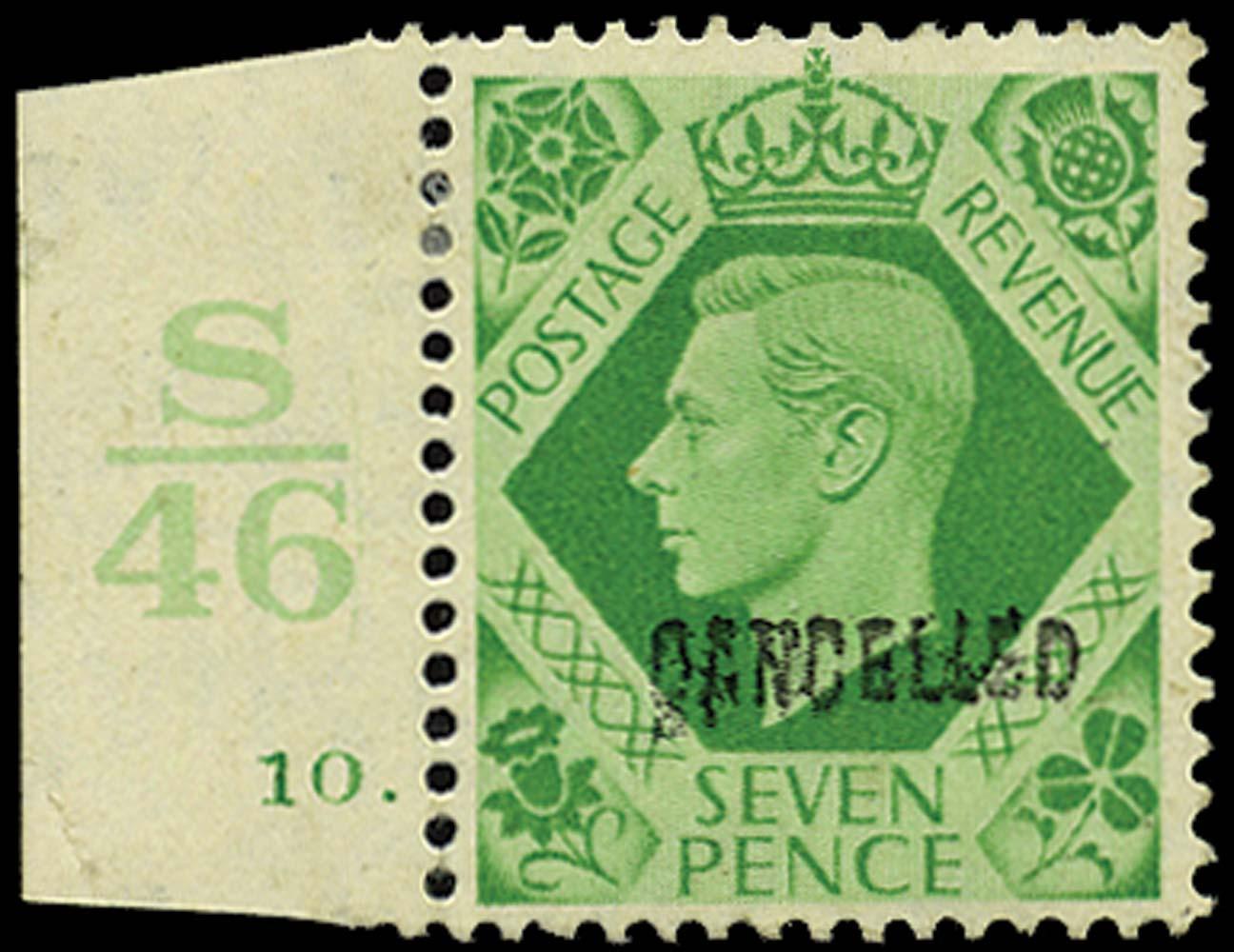 GB 1939  SG471var Specimen