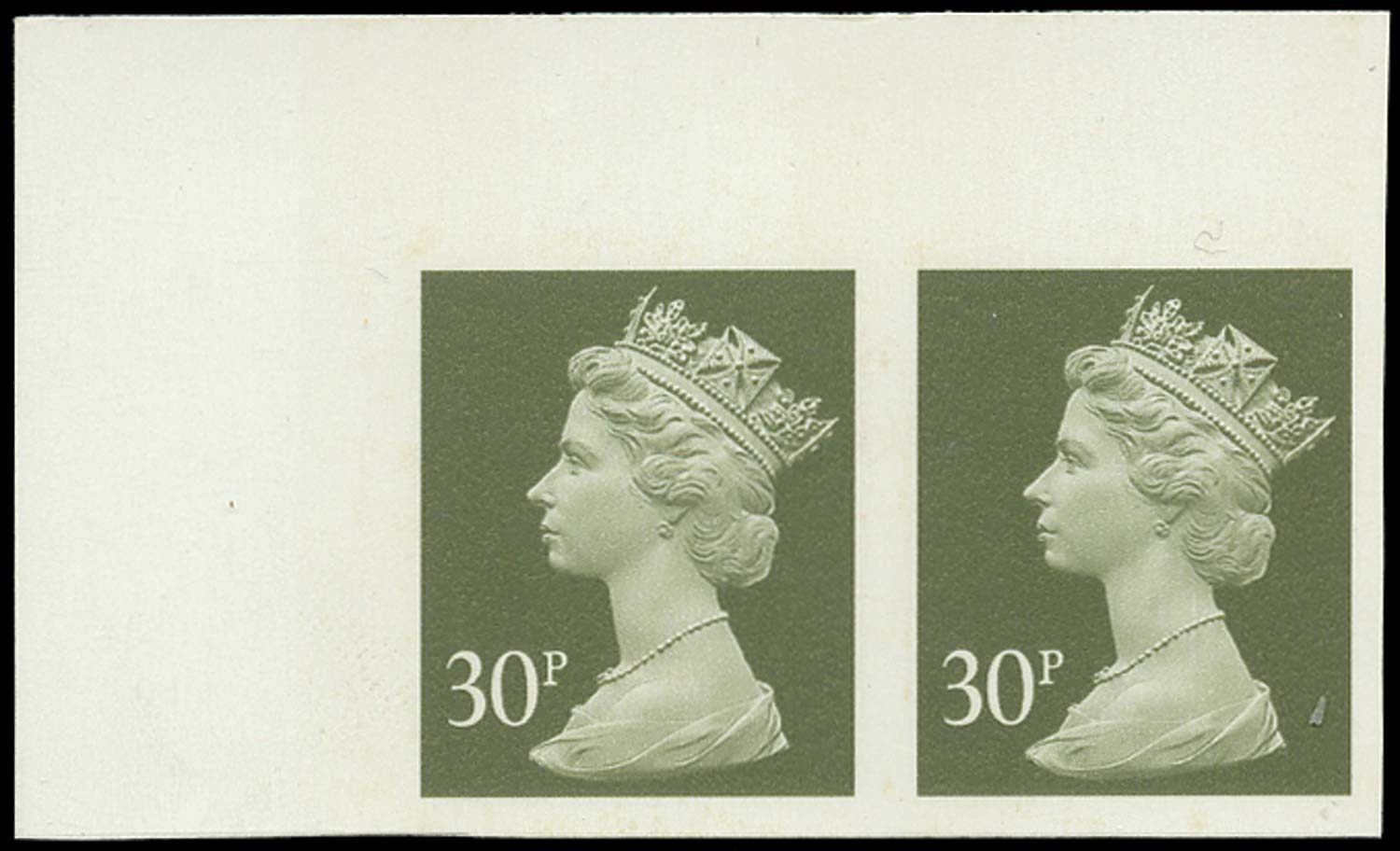 GB 1993  SGY1694a Mint Imperforate pair