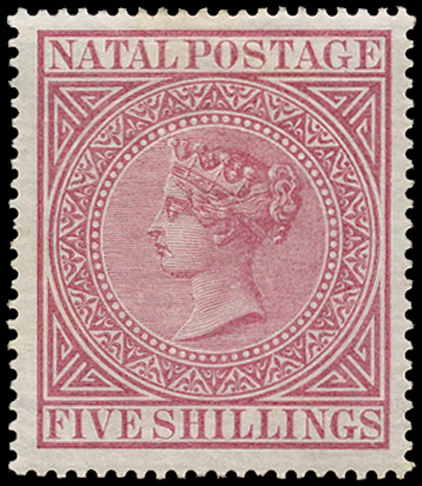 NATAL 1874  SG72 Mint