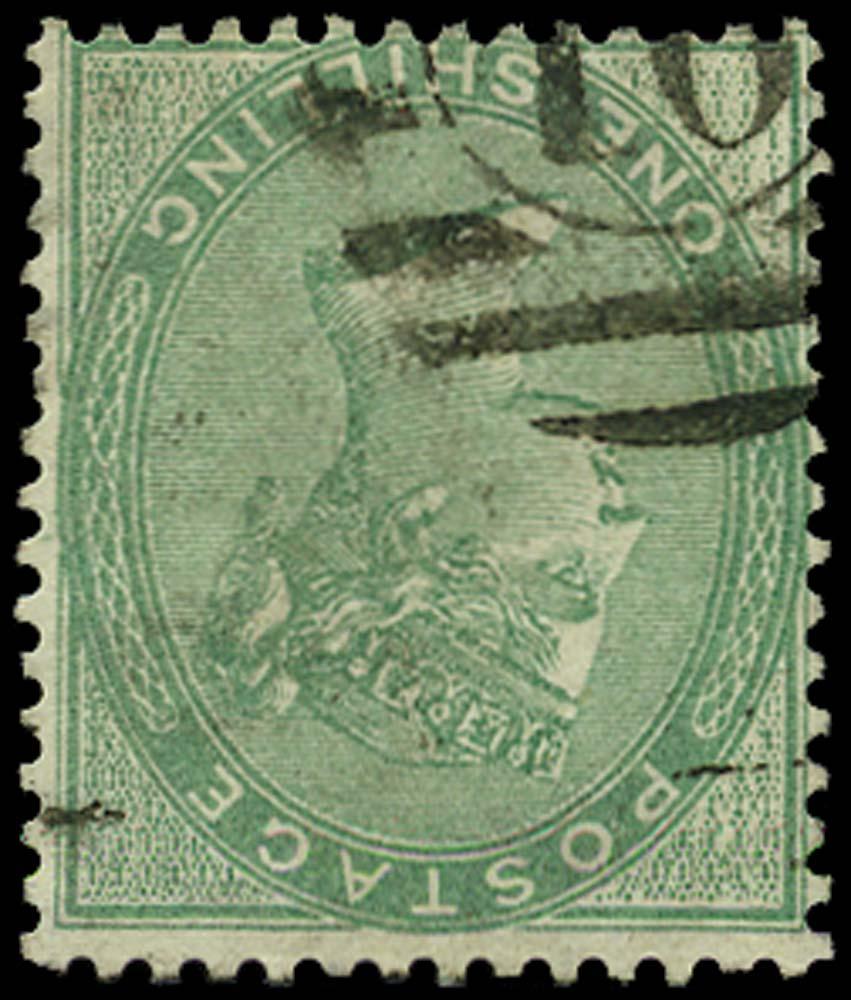 GB 1856  SG72wi Used London numeral