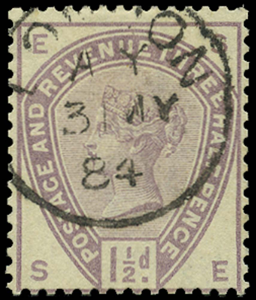 GB 1883  SG188 Used London cds