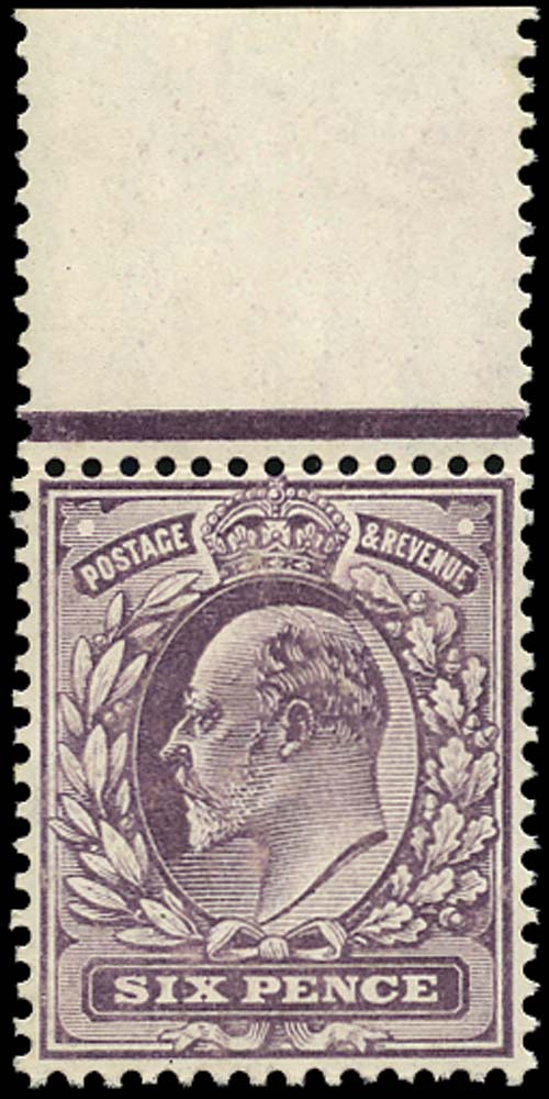 GB 1906  SG248 Mint unmounted o.g.