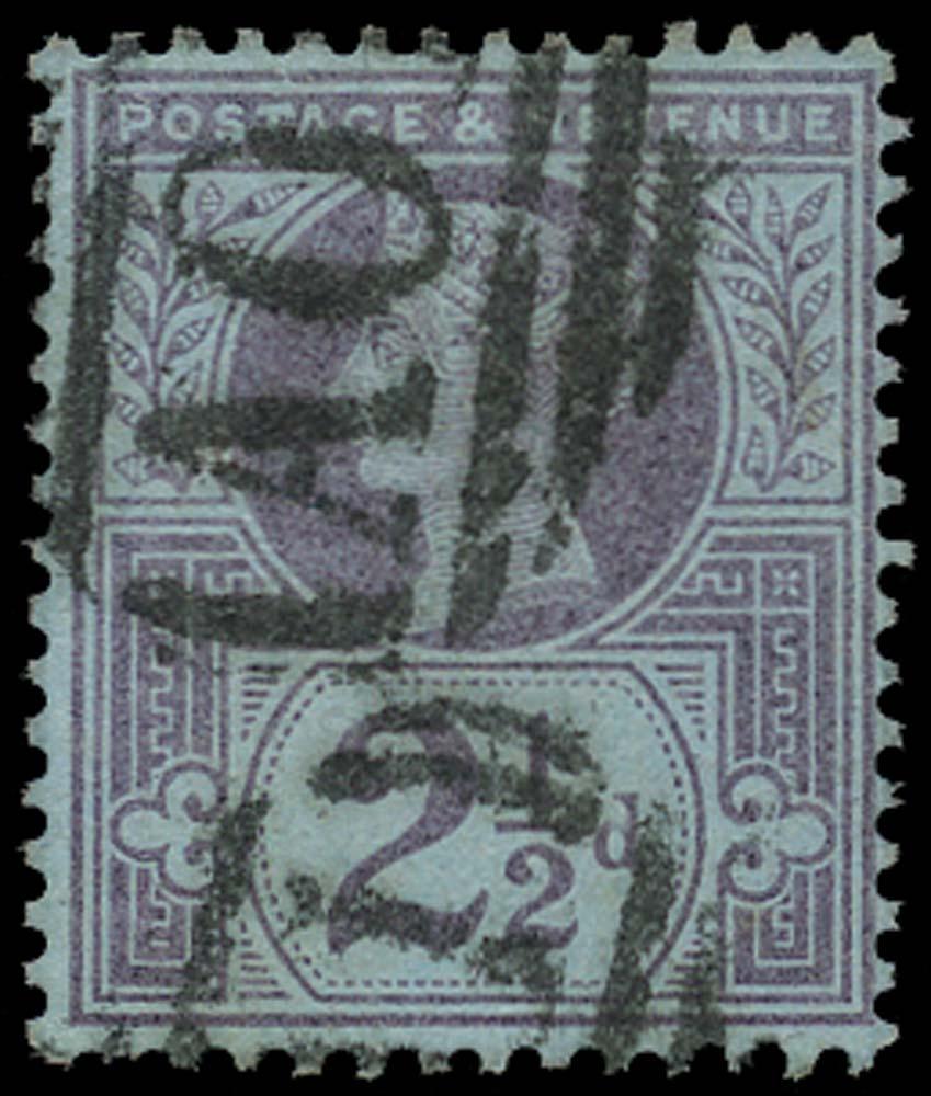 GB 1887  SG201 Used