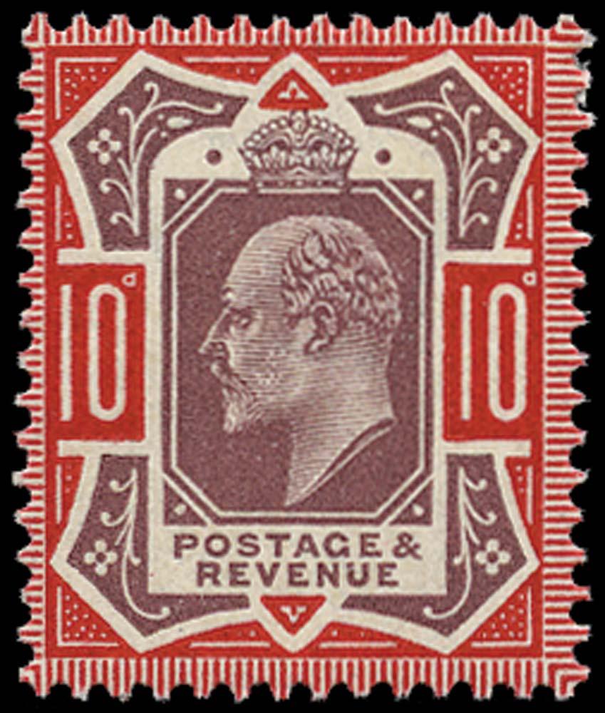 GB 1911  SG309var Mint