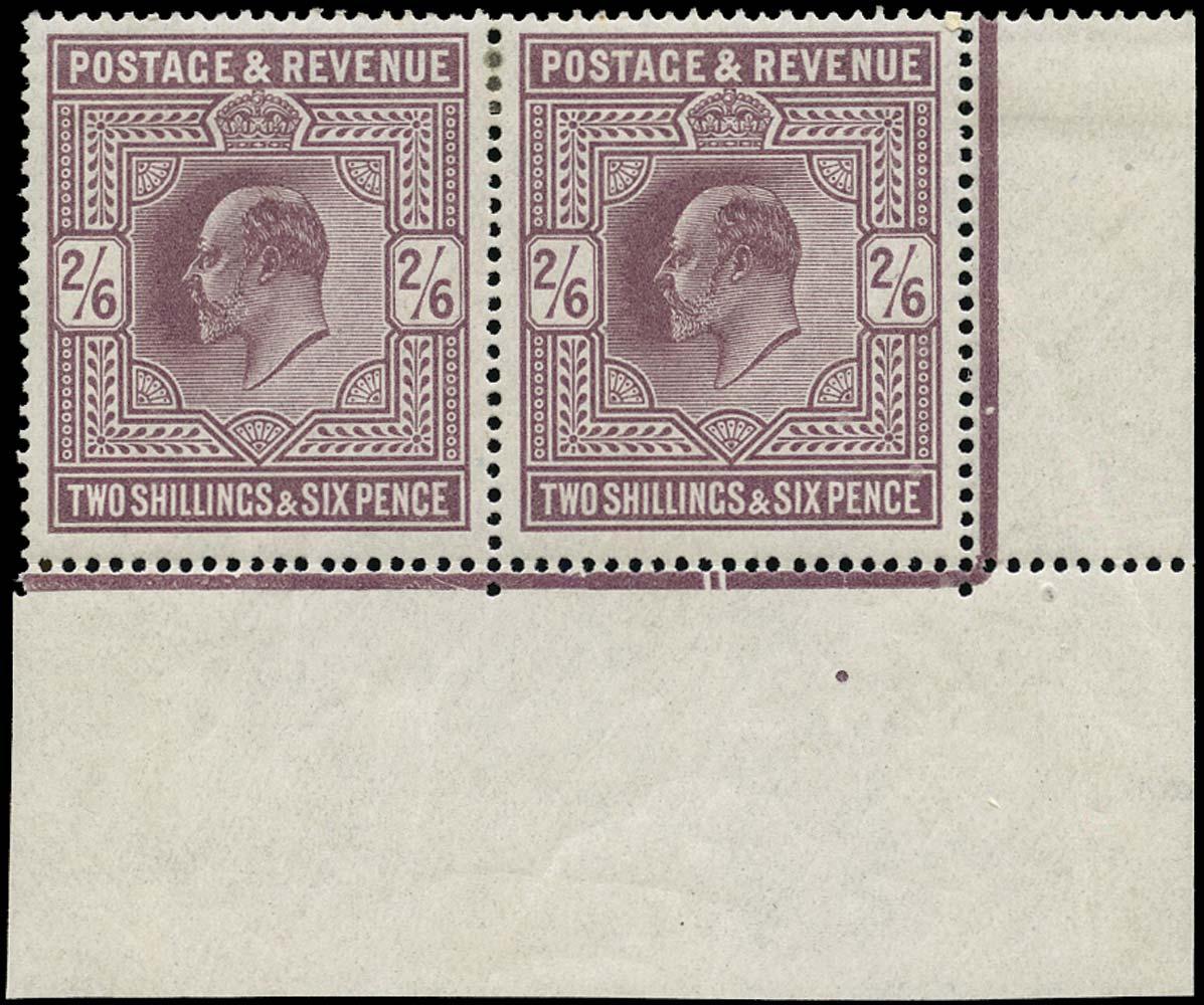 GB 1913  SG316var Pl.1c Mint
