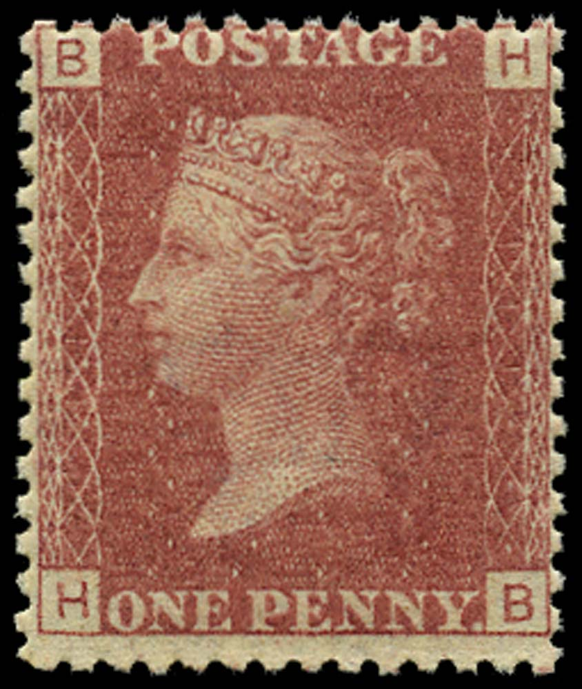 GB 1868  SG43 Pl.111 Mint U/M example (HB)