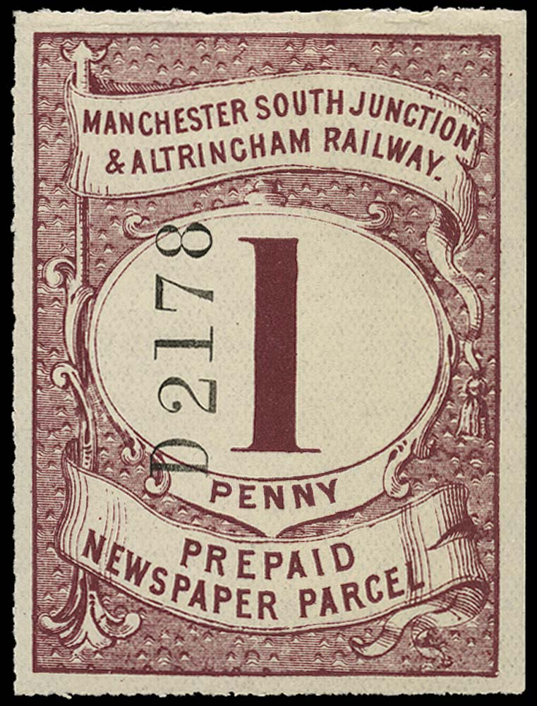GB 1905 Railway - Manchester South Junction & Altringham Railway