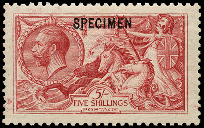 GB 1913  SG401var Specimen type 26