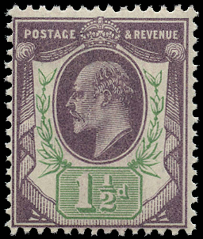 GB 1902  SG222 Mint unmounted o.g.