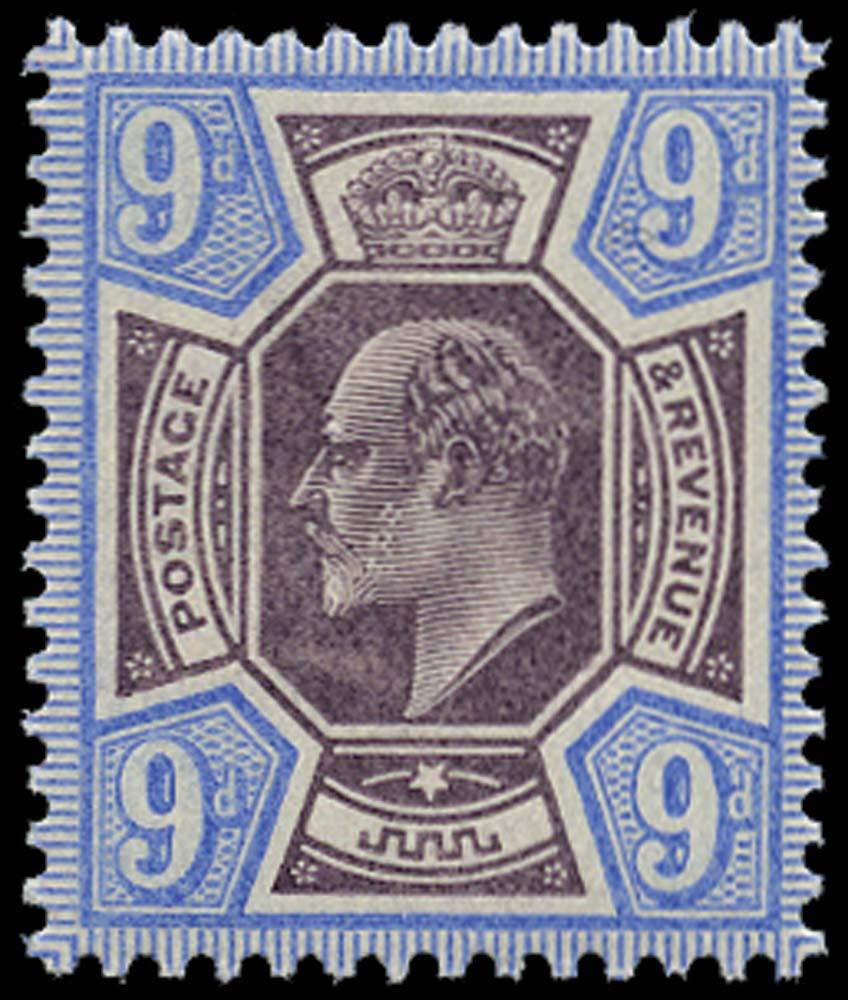 GB 1902  SG250 Mint unmounted o.g.