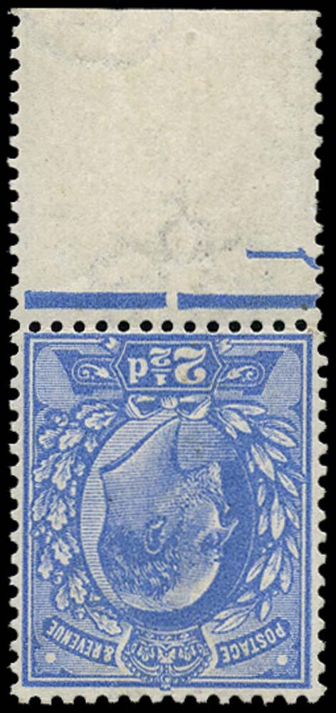GB 1911  SG276wi Mint - Wmk. Inverted