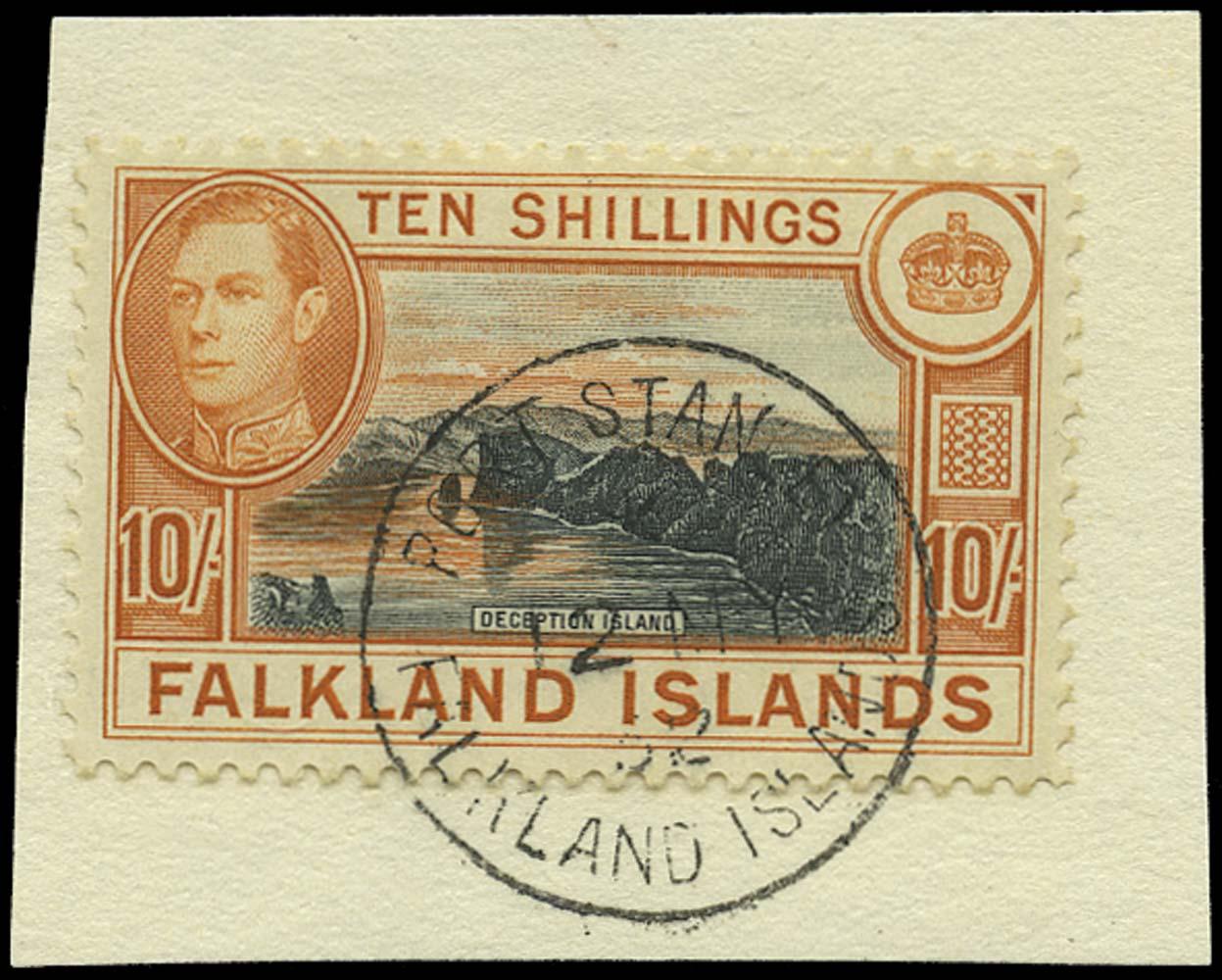 FALKLAND ISLANDS 1938  SG162c Used