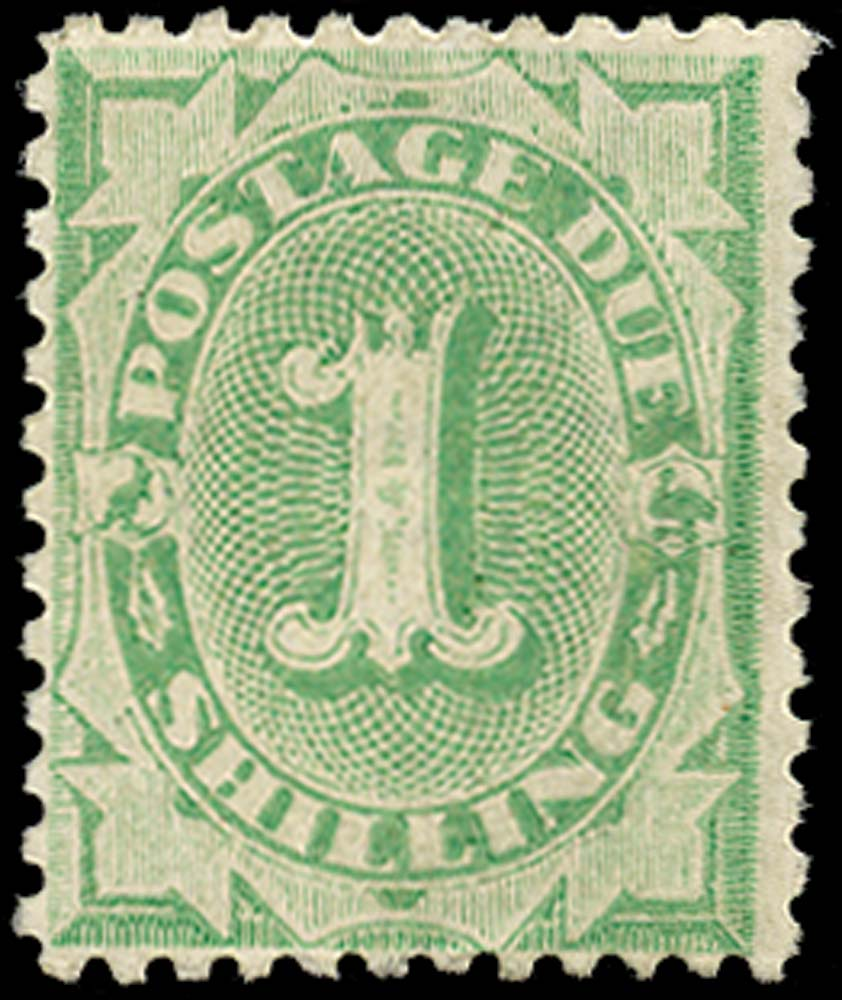 AUSTRALIA 1902  SGD31 Postage Due 1s perf 11½, 12 compound 11