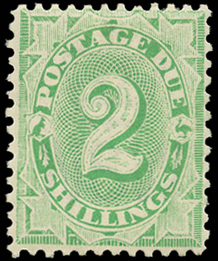 AUSTRALIA 1902  SGD20 Postage Due 2s emerald-green perf 11½, 12