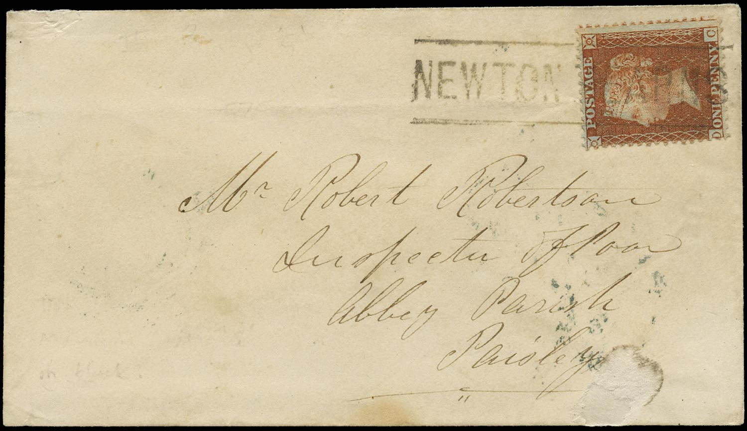 GB 1857  SG29 Pl.29 Cover