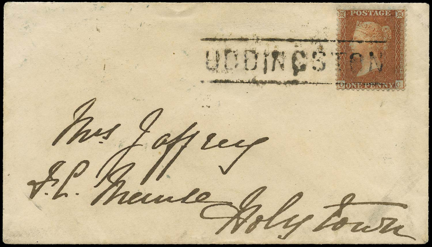 GB 1857  SG33 Pl.34 Cover