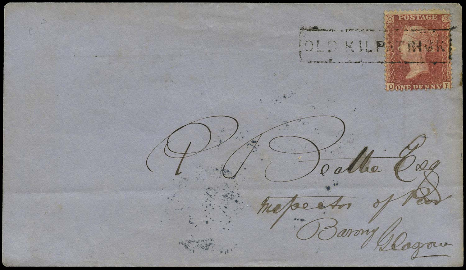 GB 1859  SG40 Pl.57 Cover