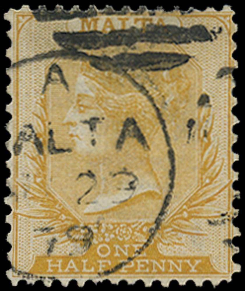 MALTA 1863  SG17 Used