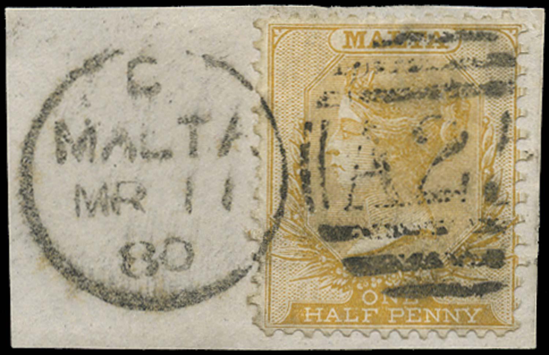 MALTA 1863  SG16 Used