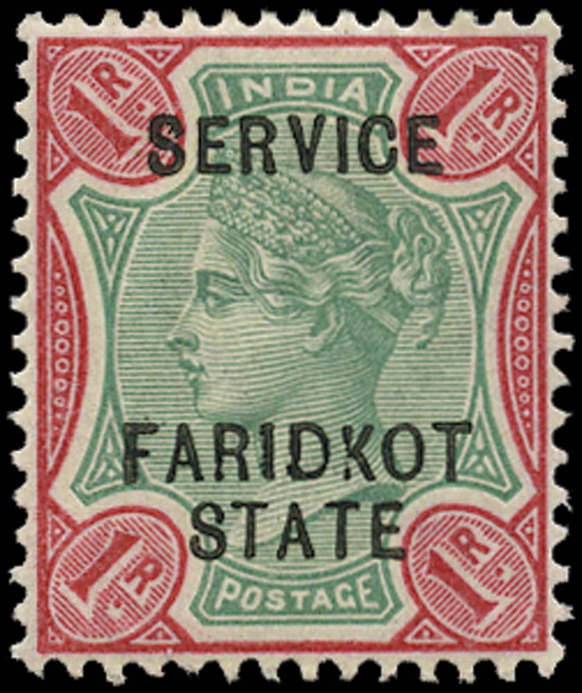 I.C.S. FARIDKOT 1887  SGO15 Official