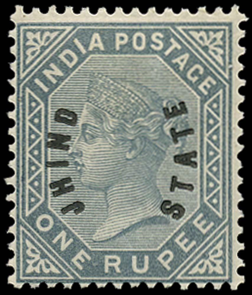 I.C.S. JIND 1885  SG6 Mint
