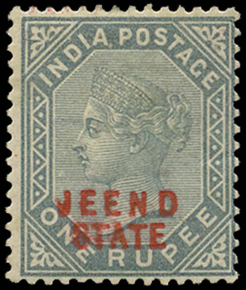 I.C.S. JIND 1885  SG12 Mint