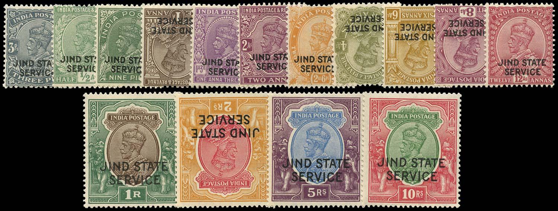 I.C.S. JIND 1927  SGO47/61 Official