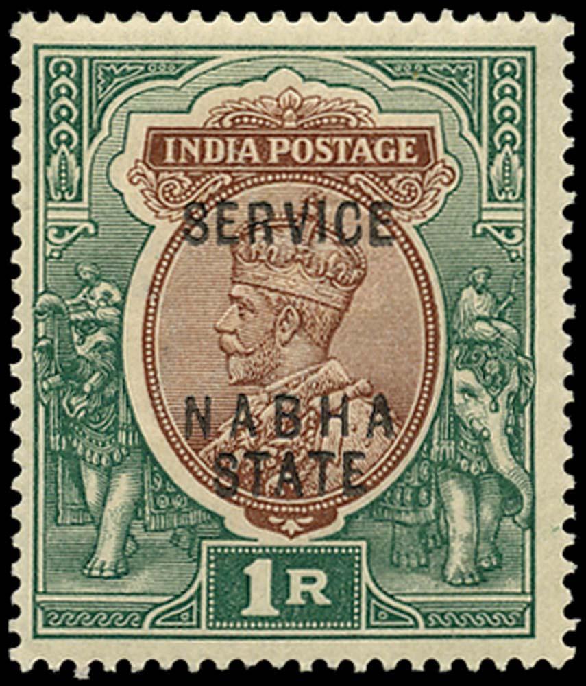 I.C.S. NABHA 1913  SGO38 Official