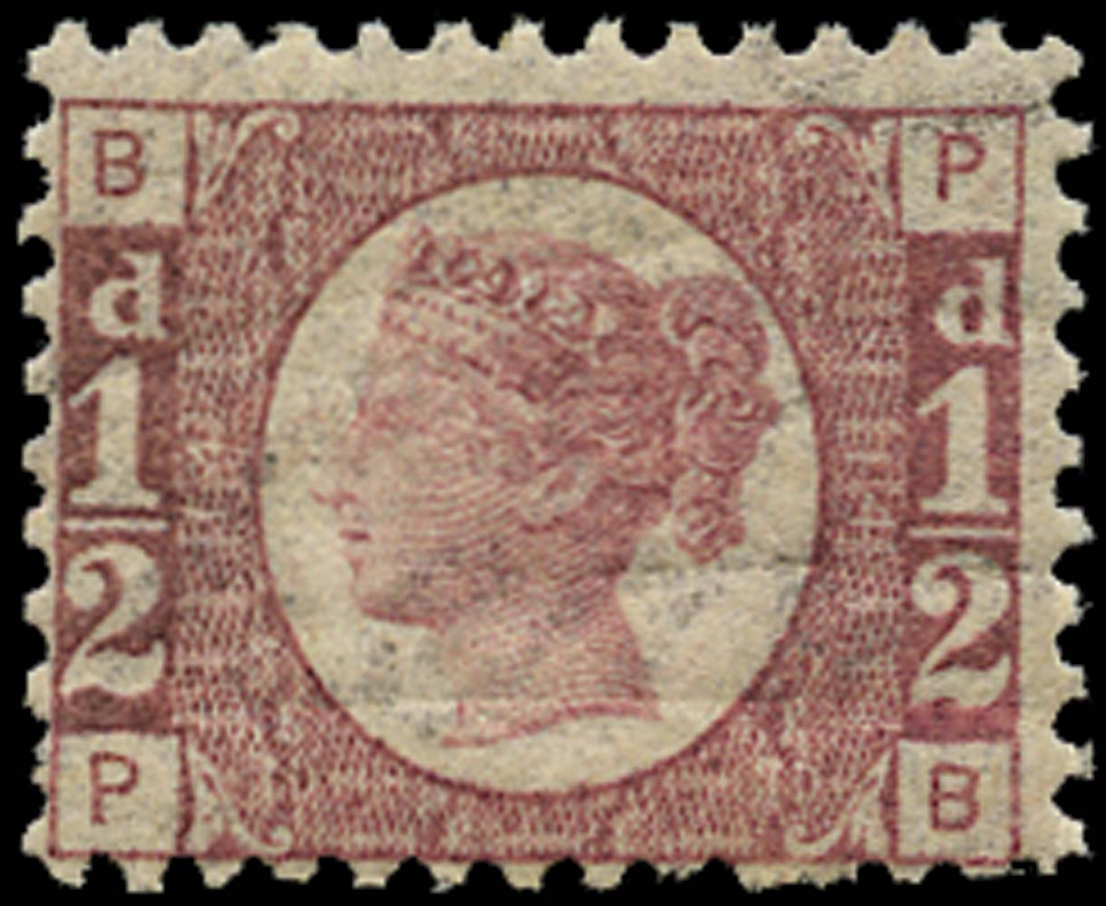 GB 1876  SG48 Pl.14 Mint unmounted o.g. (PB)