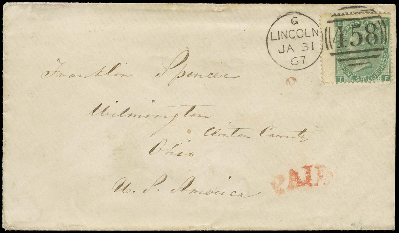 GB 1867  SG101 Pl.4 Cover
